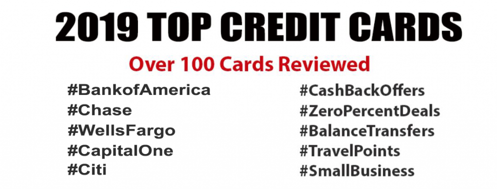 top cash back cards for 2019